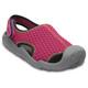 Crocs Swiftwater Sandals Children grey/pink